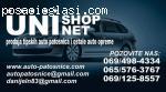 Auto Patosnice,Ratkapne UNISHOP NET Auto Oprema