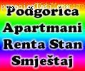Renta stan apartman Podgorica, stan na dan, iznajmljivanje