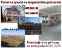 Poslovna zgrada sa magacinskim prostorom- Beograd