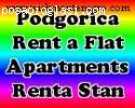 Real estate podgorica, rentals, apartments for rent, zakup