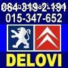Peugeot DELOVI Citroen Pežo polovni i novi