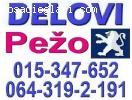 DELOVI Pežo 106 206 306 307 405 406 407 607 807 Partner
